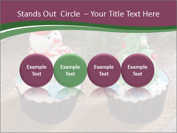 Christmas Cupcake PowerPoint Templates - Slide 76