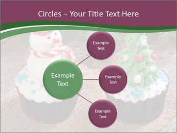 Christmas Cupcake PowerPoint Template - Slide 79