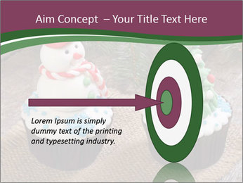Christmas Cupcake PowerPoint Template - Slide 83