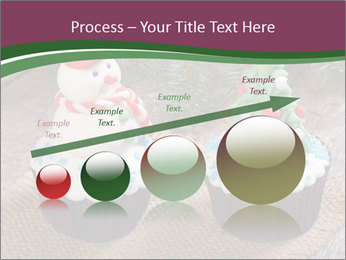Christmas Cupcake PowerPoint Template - Slide 87