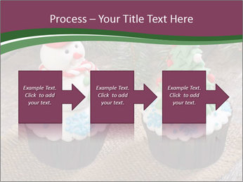 Christmas Cupcake PowerPoint Templates - Slide 88