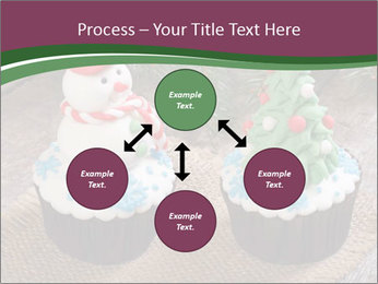 Christmas Cupcake PowerPoint Template - Slide 91