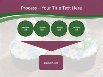Christmas Cupcake PowerPoint Template - Slide 93