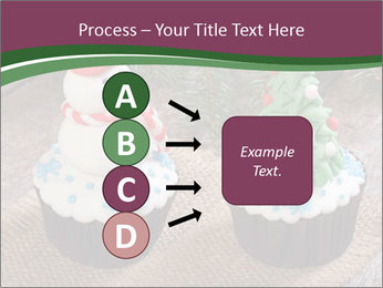 Christmas Cupcake PowerPoint Template - Slide 94