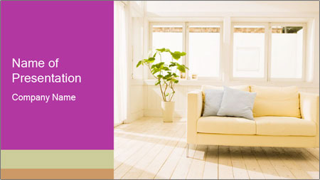 Contemporary Interior Design PowerPoint Template