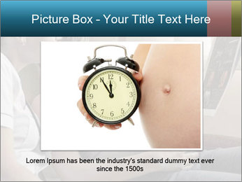 Pregnant Woman Watch Baby Ultra Scanning Result PowerPoint Template - Slide 16