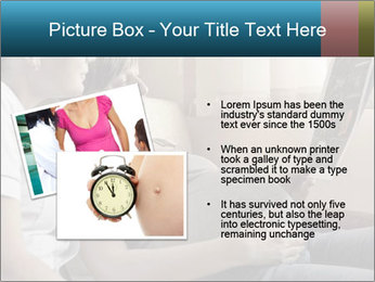 Pregnant Woman Watch Baby Ultra Scanning Result PowerPoint Template - Slide 20