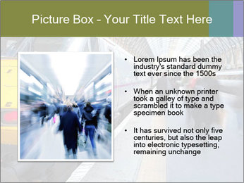 Urban Railway Station PowerPoint Template - Slide 13