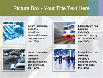 Urban Railway Station PowerPoint Template - Slide 14
