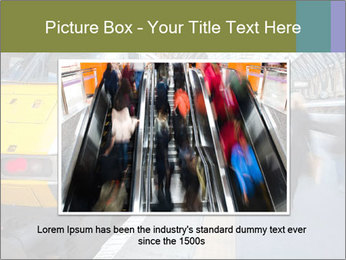 Urban Railway Station PowerPoint Template - Slide 16