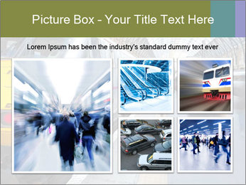 Urban Railway Station PowerPoint Template - Slide 19