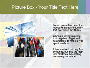 Urban Railway Station PowerPoint Template - Slide 20