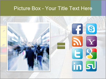 Urban Railway Station PowerPoint Template - Slide 21