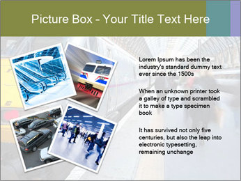 Urban Railway Station PowerPoint Template - Slide 23