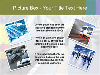 Urban Railway Station PowerPoint Template - Slide 24