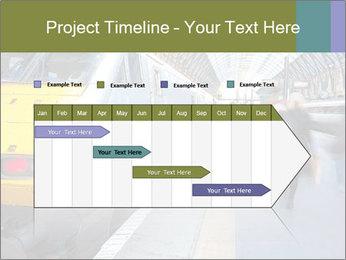 Urban Railway Station PowerPoint Templates - Slide 25