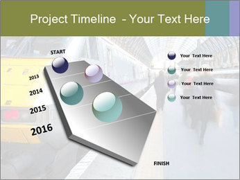 Urban Railway Station PowerPoint Template - Slide 26
