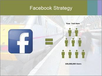Urban Railway Station PowerPoint Templates - Slide 7