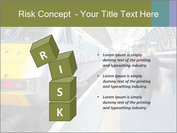 Urban Railway Station PowerPoint Template - Slide 81