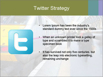 Urban Railway Station PowerPoint Template - Slide 9