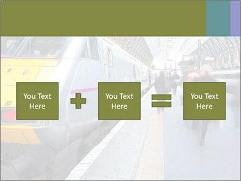 Urban Railway Station PowerPoint Templates - Slide 95