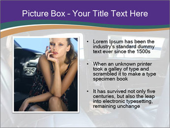 Lady In Limo PowerPoint Templates - Slide 13