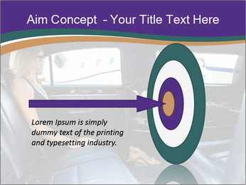 Lady In Limo PowerPoint Templates - Slide 83