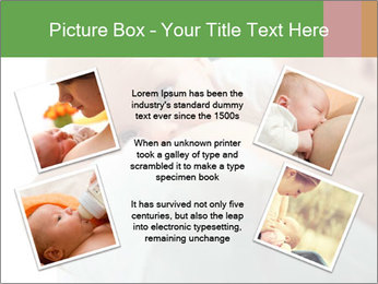 Sweet Breastfeeding Moment PowerPoint Template - Slide 24
