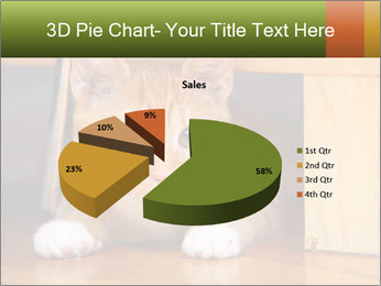 Little Red Cat PowerPoint Template - Slide 35
