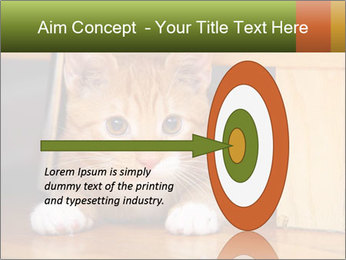 Little Red Cat PowerPoint Template - Slide 83