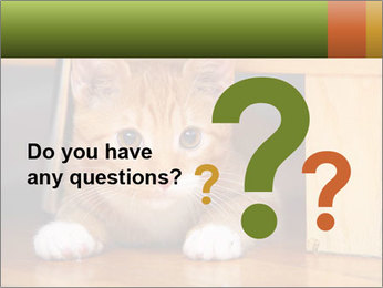 Little Red Cat PowerPoint Template - Slide 96