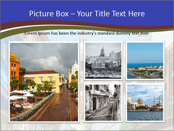 Spanish Architecture PowerPoint Template - Slide 19