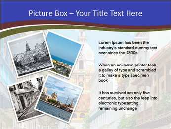 Spanish Architecture PowerPoint Template - Slide 23
