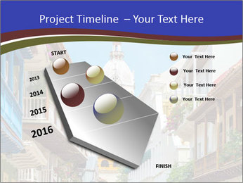 Spanish Architecture PowerPoint Template - Slide 26