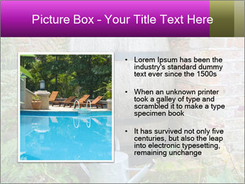 Barrel In Backyard PowerPoint Templates - Slide 13