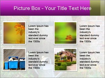 Barrel In Backyard PowerPoint Templates - Slide 14