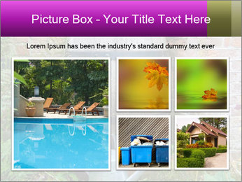 Barrel In Backyard PowerPoint Templates - Slide 19