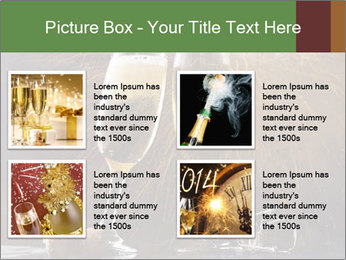 Romantic Evening With Champagne PowerPoint Templates - Slide 14