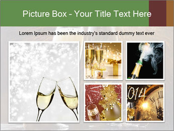 Romantic Evening With Champagne PowerPoint Templates - Slide 19