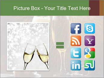 Romantic Evening With Champagne PowerPoint Templates - Slide 21