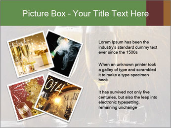 Romantic Evening With Champagne PowerPoint Templates - Slide 23