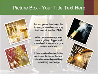 Romantic Evening With Champagne PowerPoint Templates - Slide 24