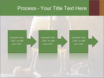 Romantic Evening With Champagne PowerPoint Templates - Slide 88