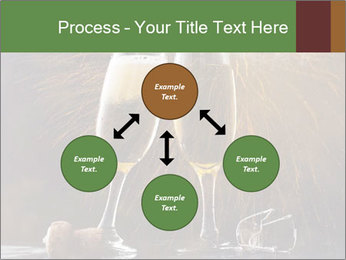 Romantic Evening With Champagne PowerPoint Templates - Slide 91