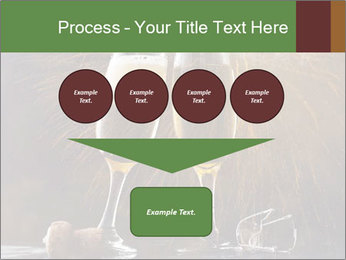 Romantic Evening With Champagne PowerPoint Templates - Slide 93