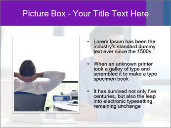 Successful And Handsome Businessman PowerPoint Templates - Slide 13