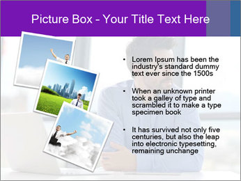 Successful And Handsome Businessman PowerPoint Templates - Slide 17