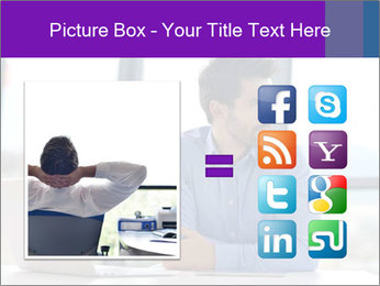 Successful And Handsome Businessman PowerPoint Templates - Slide 21