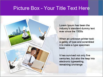 Successful And Handsome Businessman PowerPoint Templates - Slide 23