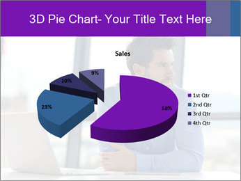 Successful And Handsome Businessman PowerPoint Templates - Slide 35